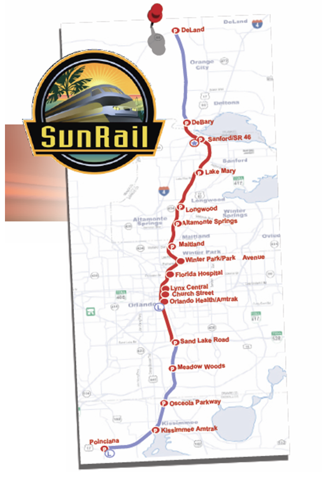 SunRail Plan Central Florida