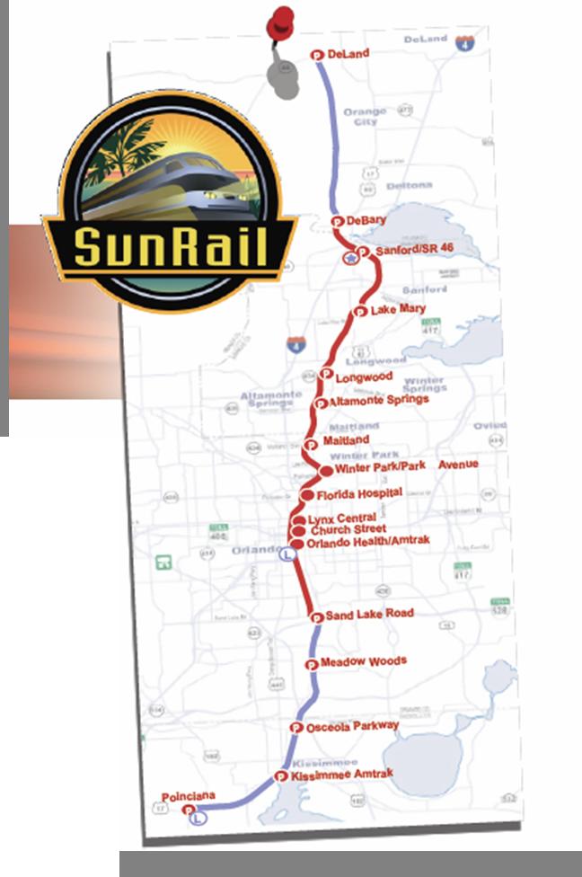 SunRail Plan Central Florida