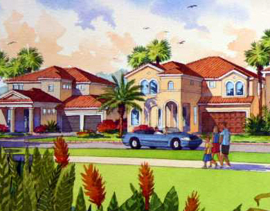 New construction in Orlando Florida
